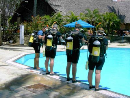 Peponi Divers,Mombasa,Kenia