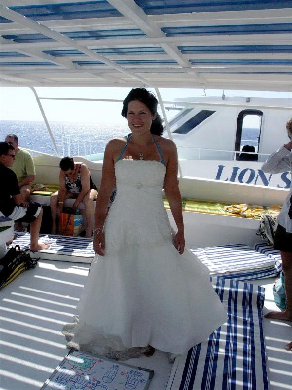 Unterwasserhochzeit Tobia Arbaa, Safaga ORCA - Dive Clubs,Ägypten,Braut,Brautkleid,Hochzeit,Unterwasserhochzeit