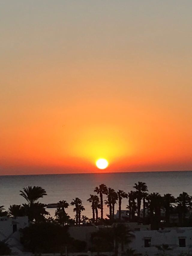 Sonnenaufgang Guesthouse Panoramo Safaga, PANORAMA Guesthouse & Restaurant, Safaga, Ägypten, Safaga