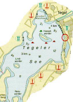 Tegeler See,Berlin,Deutschland
