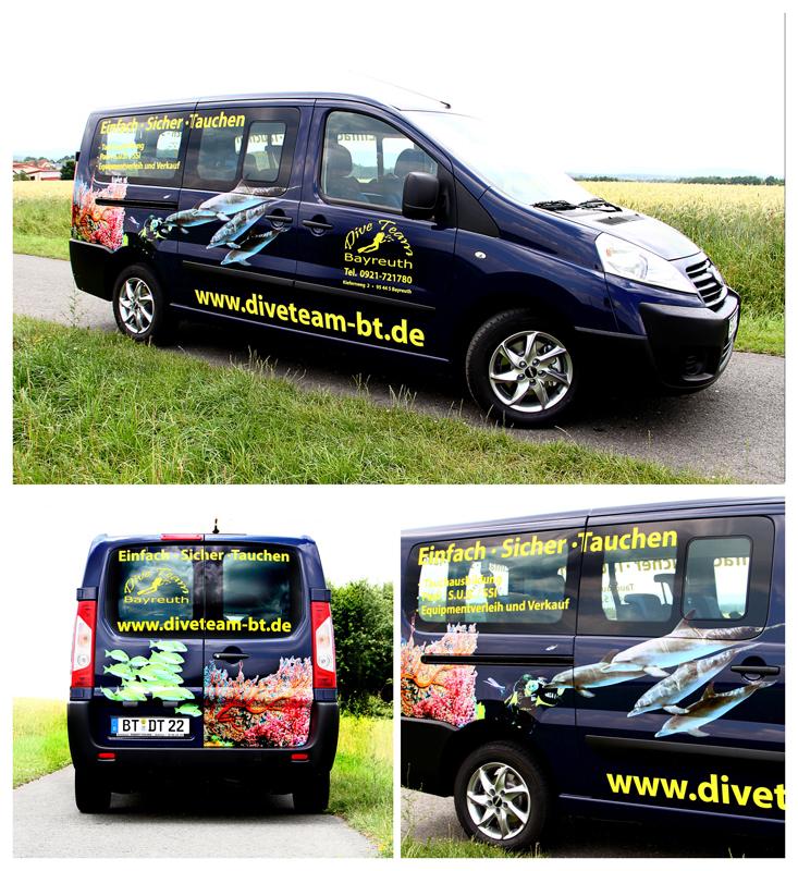Divemobil, Dive Team Tauchschule, Bayreuth, Deutschland, Bayern