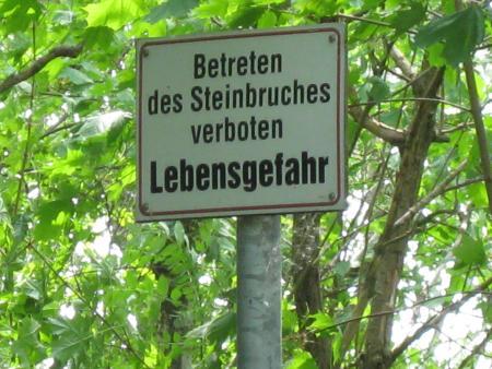 Steinbruch Sparmann,Kamenz,Sachsen,Deutschland