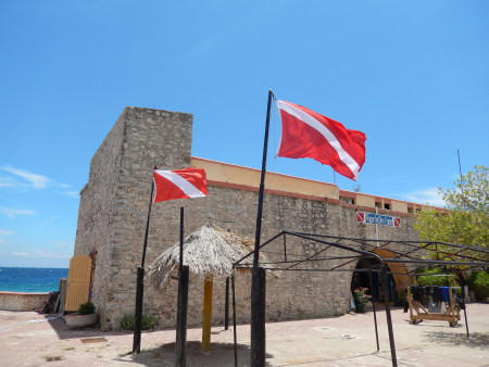 Waterfort Dive Center,Willemstad/Punda,Curaçao,Niederländische Antillen