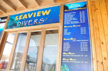 Seaview Divers Dahab,Sinai-Nord ab Dahab,Ägypten