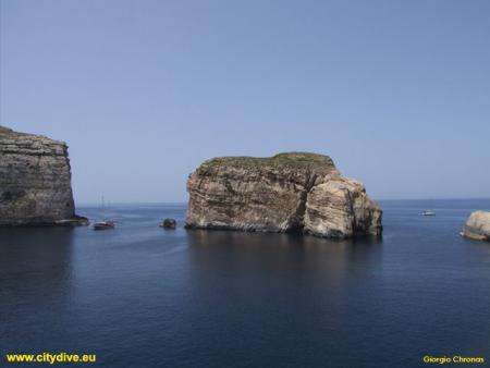 Fungus Rock,Malta