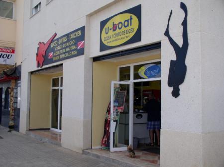 Centro de buceo U-BOAT,Denia,Festland,Spanien