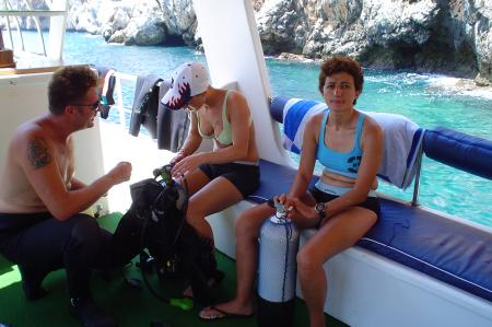 Sunfish Diving,Türkei
