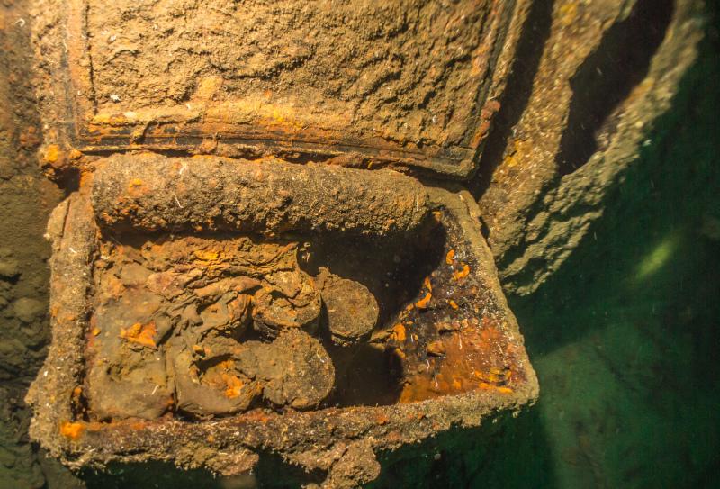 Wrack der Mosel - von Derk Remmers, Wrack D/S V 1605 ex Mosel, Norwegen