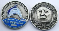 GRD - Save the Dolphins Geocoin