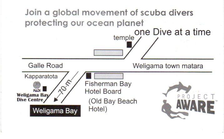 Weligama Bay Dive Center, Sri Lanka
