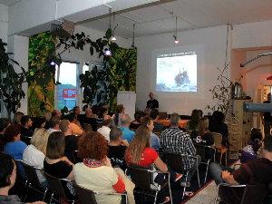 Vortragssaal, SeaStarTauchsportcenter Wien, Österreich