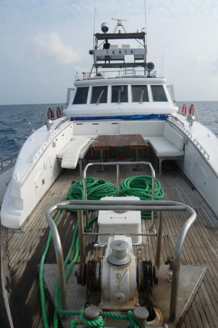 M/Y Galileo (ehemals M/Y Teate),Malediven