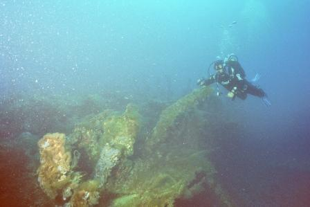 Menorca - Malakoff Wrack,Spanien