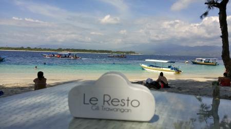 Le Resto,Gili Trawangan Lombok,Indonesien