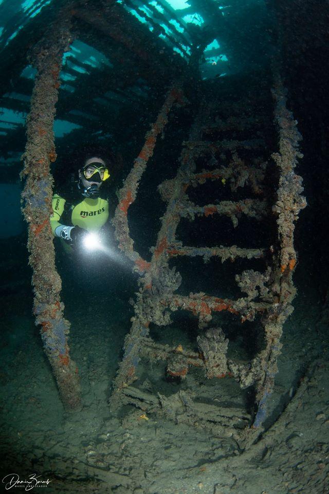 Po Hospital Ship Wreck, Oazi Blu Diving, Vlora, Albania, Diving Albania, Ship-Wreck.eu, Wrack Lazarettschiff ´Po´, Albanien