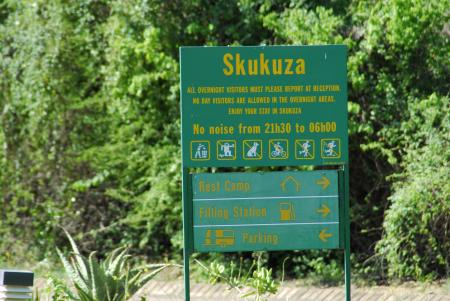 Skukuza Main Camp,Krüger Nationalpark,Südafrika