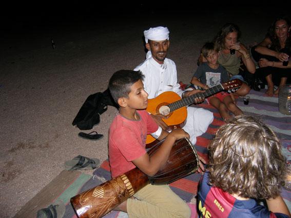 Nächtlicher Ausflug in die Wüste , Bedouin Divers, Dahab, Ägypten, Sinai-Nord ab Dahab