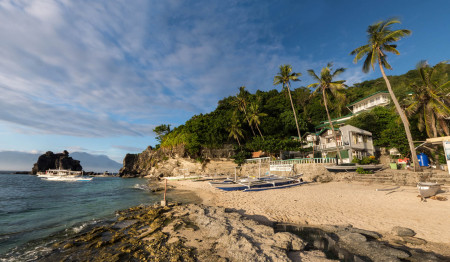 Liberty Lodge and Dive,Apo Island,Philippinen