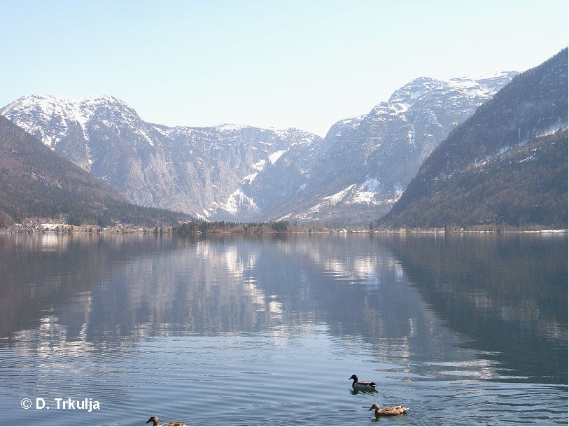 Hallstätter See, Hallstätter See,Österreich