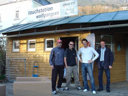 Tauchstation Wolfgangsee,Österreich
