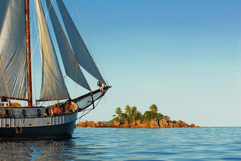 Sea Pearl bei St Pierre, Sea Pearl, Seychellen