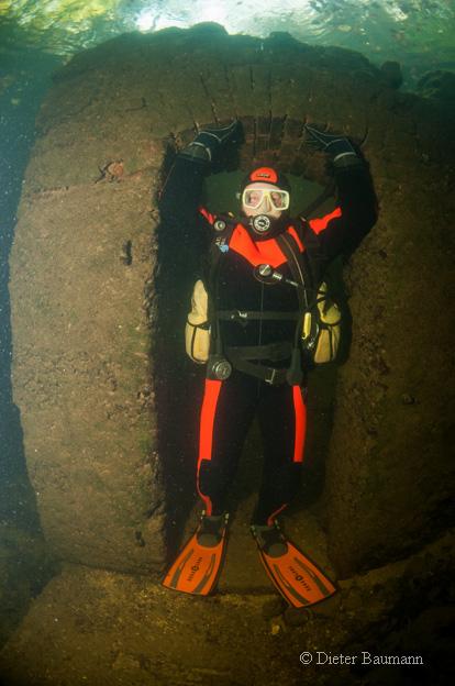 Unterwasserhaus , Atlantis Qualidive, Traunfall, Österreich