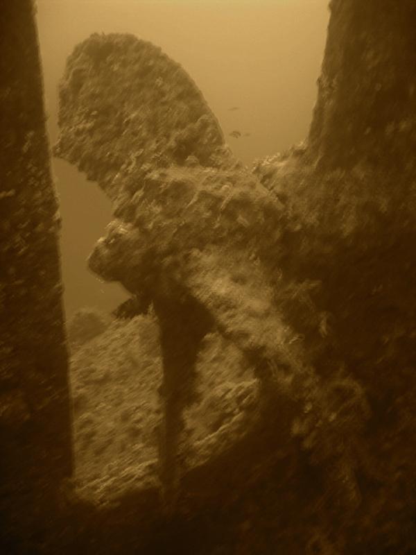 Wrack der Dunraven, Wrack der Dunraven,Ägypten