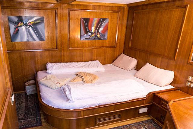 Eine Suite auf dem Oberdeck der Seawolf Felo, M/Y Seawolf Felo, Ägypten
