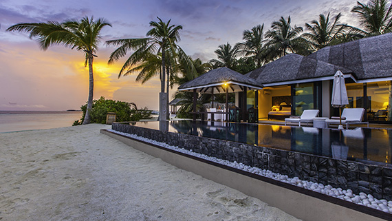 2 Schlafzimmer Executive Suite, Suite, Ocean Dimensions, Kihaa Maldives, Baa Atoll, Malediven