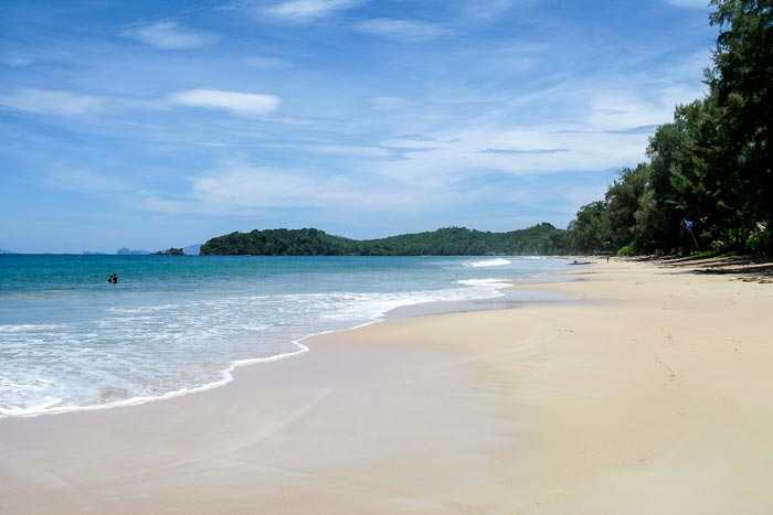Koh Phayam - Aow Yai Strand nord, Koh Phayam, payam, Tauchen, Thailand, Tagestour, Richelieu Rock, Aladdin Dive Safari (Koh Phayam Island), Andamanensee