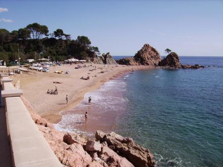 Mar Menuda,Tossa de Mar,Costa Brava,Festland,Spanien