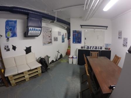 Teaching area, Arraia Divers, Angra do Heroismo - Ilha Terceira, Portugal, Azoren