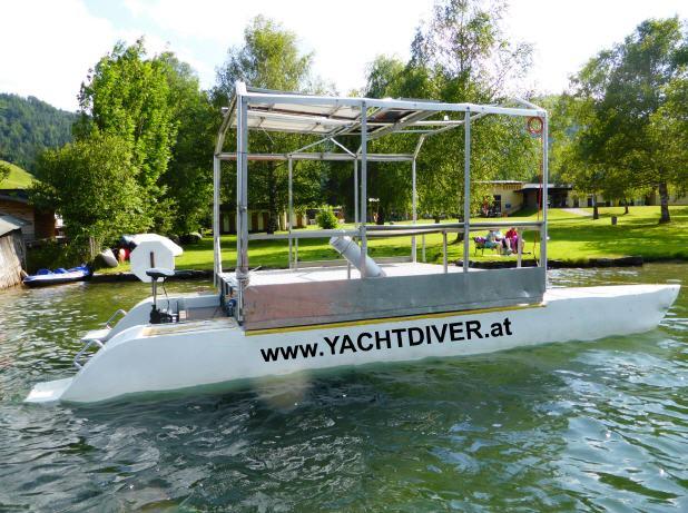 Yachtdiver Techendorf Weißensee, Österreich