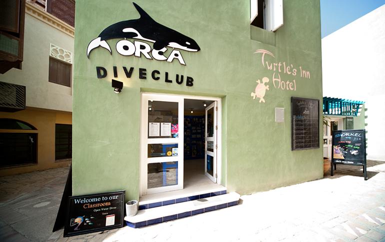 Orca Dive Club, Turtle`s Inn Dive Club, El Gouna, Ägypten, Hurghada
