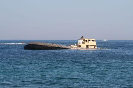 Wrack der TUG-2,St. Julians,Malta