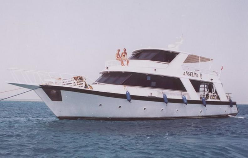 M/Y Angelina II, Ägypten
