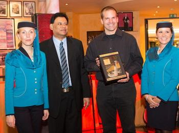 Top Agent Award Oman Air - Reisecenter Federsee