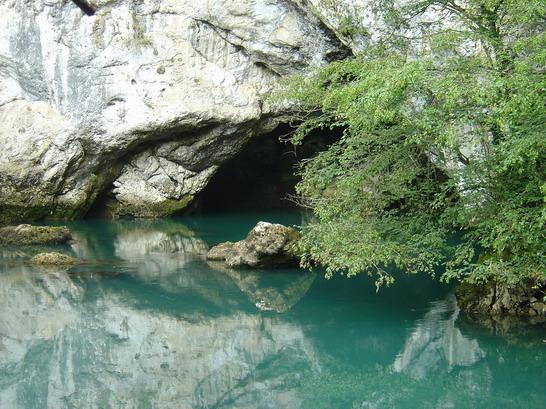 Fluss Una, NW Bosnien, Fluss Una,Bosnien und Herzegowina