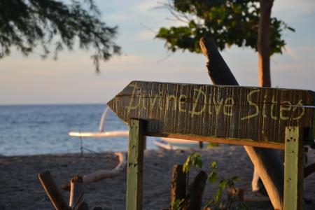 Divine Divers,Gili Meno,Bali,Indonesien