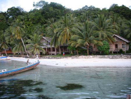 Island Retreat,Togian Islands,Sulawesi,Indonesien