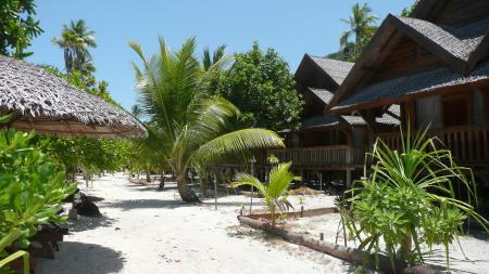 Patuno Resort Wangi Wangi Wakatobi,Sulawesi,Indonesien