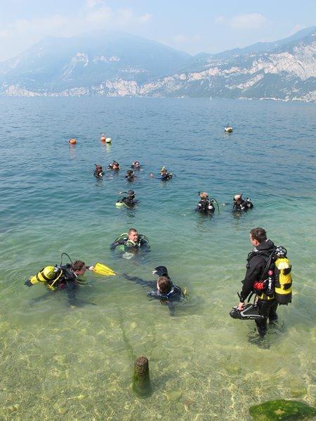 Sommer-Tauchtag am Gardasee, Gardasee, Sportdiver Club, Italien