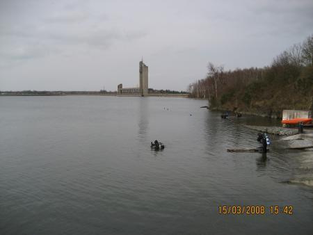 Barrage de l´eau d´Heure,Belgien