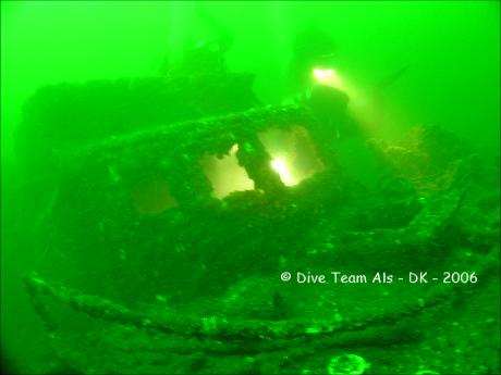 S 103, S103, S 103, Bridge, Dive Team Als, Sydals, Insel Als, Dänemark