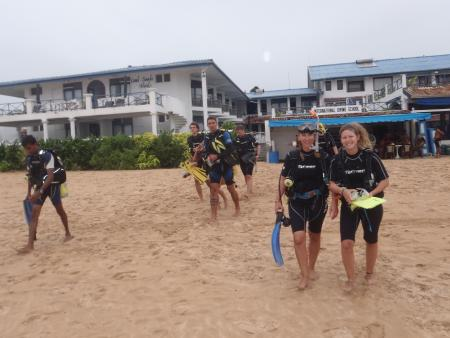International diving school,Hikkaduwa,Sri Lanka
