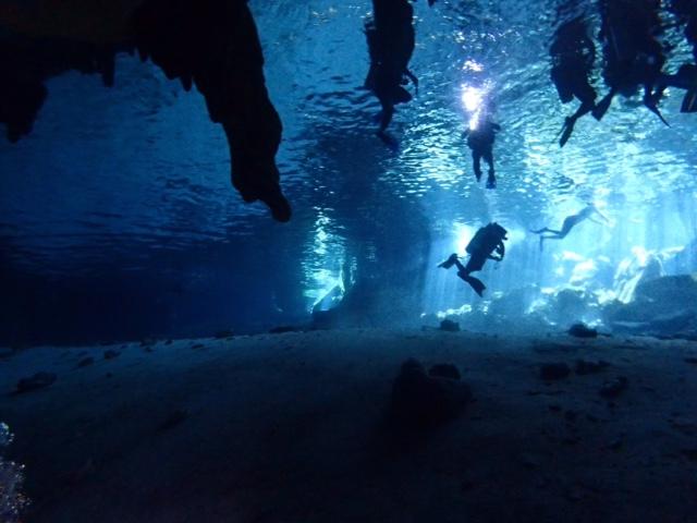 Dos Ojos, Deep Dive Mexico, Mexiko