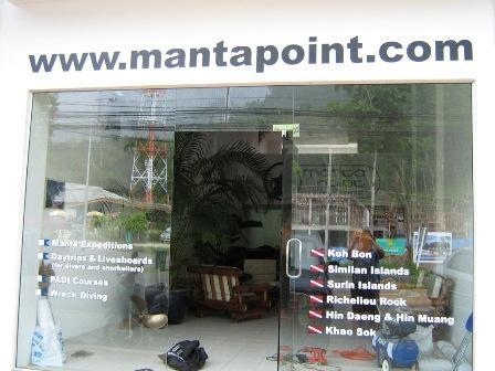Manta Point,Khao Lak,Andamanensee,Thailand