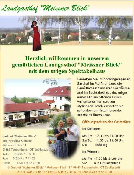 Landgasthof Meissner Blick,Sachsen,Deutschland