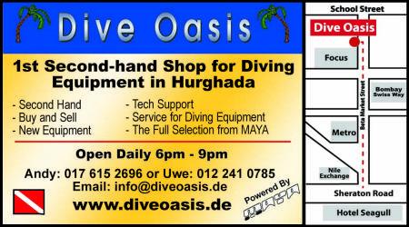 Dive Oasis Shop,Hurghada,Ägypten