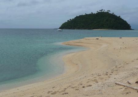 Bonbon Beach,Romblon,Philippinen